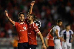 Independiente le ganó un partidazo a Talleres