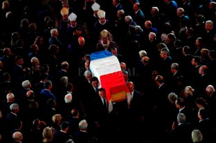 Francia despide al ex presidente Jacques Chirac