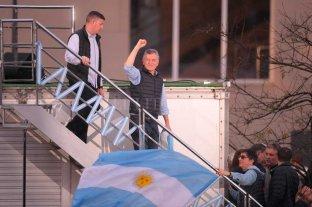 """Macri visita localidades de Santa Fe como parte de la marcha del """"Sí se puede"""""""