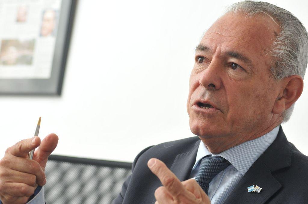 Mario Barletta, embajador argentino en Uruguay.  Crédito: Archivo El Litoral