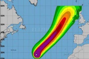 Europa en alerta por la llegada del huracán Lorenzo