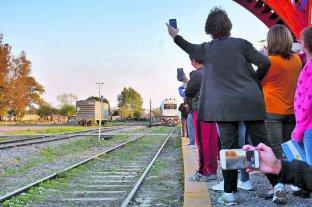 Tras 22 años, el tren de larga distancia pasó por Sunchales