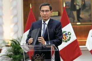 El Presidente de Perú disolvió el Congreso de la República