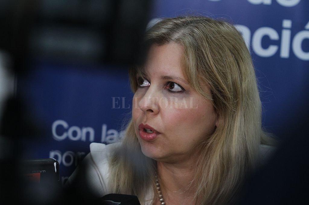 Fiscal Rosana Marcolín. Crédito: Archivo El Litoral