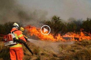 Las sierras de Córdoba resisten: hace una semana comenzaron los incendios