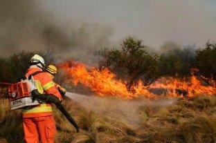Se mantienen dos focos de incendios en las forestaciones serranas de Córdoba
