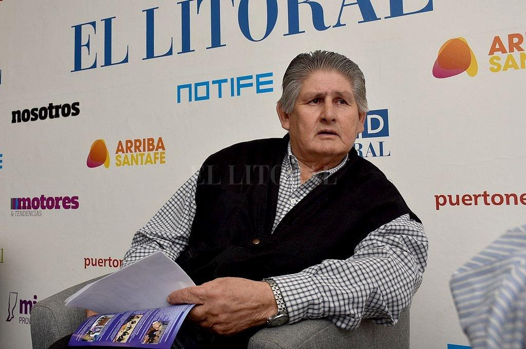 Narciso Carrizo. <strong>Foto:</strong> Archivo El Litoral