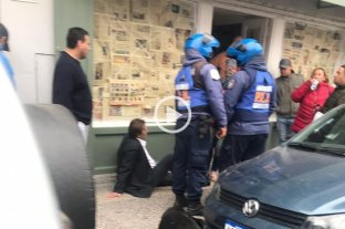 Sergio Varisco fue agredido frente a su casa y debió ser internado