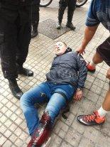 Videos: A los tiros en la zona céntrica de Rosario