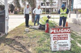 San Cristóbal es la primera localidad de la provincia en tener gas del Gnea