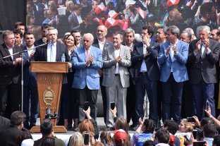 "Alberto Fernández: ""Vamos a hacer un gobierno de un presidente con 24 gobernadores"""