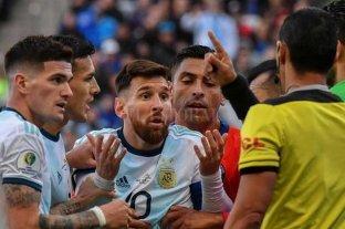 Conmebol ratificó los tres meses de sanción para Lionel Messi