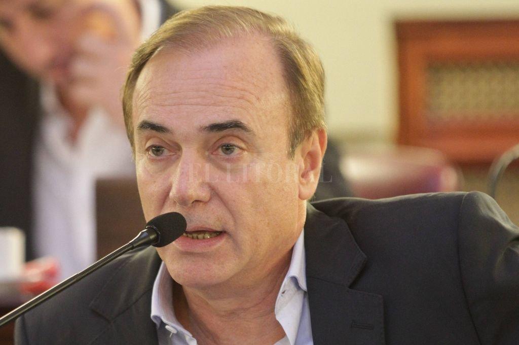 Eduardo Di Pollina, el diputado provincial socialista que votará por Alberto Fernández. Crédito: Archivo El Litoral