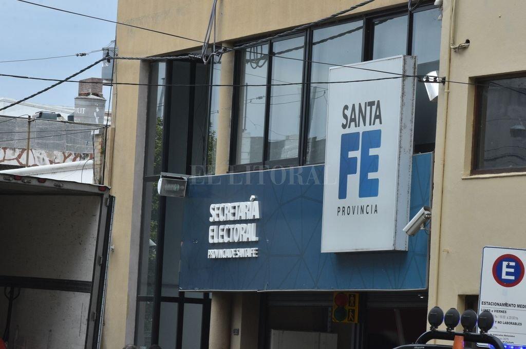 Secretaría Electoral de Santa Fe.  <strong>Foto:</strong> Archivo El Litoral