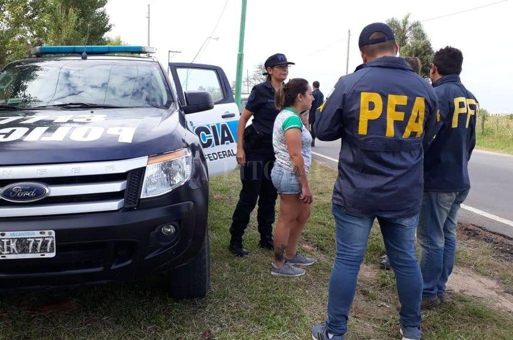 La mujer ya había violado la domiciliaria impuesta por la Policía Federal el 22 de marzo, cuando se ausentó sin permiso de la casa de El Paso. Crédito: Archivo El Litoral