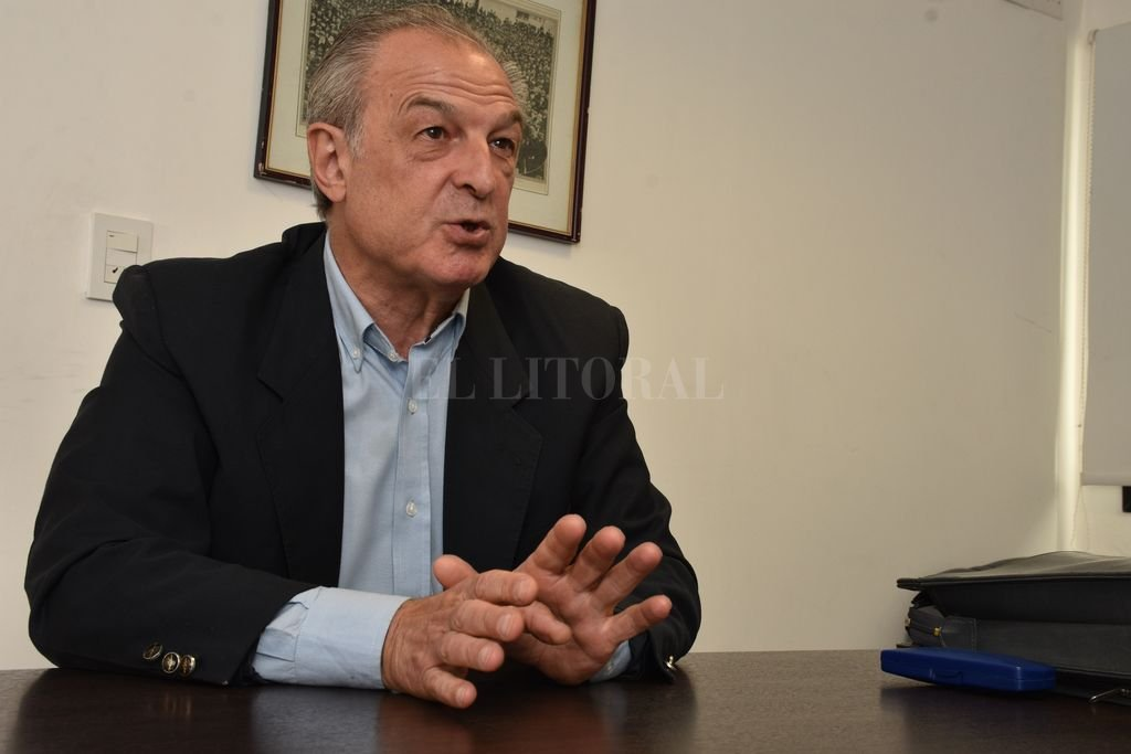 Alberto Papini es licenciado en Economía y contador. Crédito: Guillermo Di Salvatore