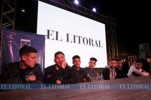 """Jugadores de Unión y Colón juntos """"Por un clásico en paz"""""""