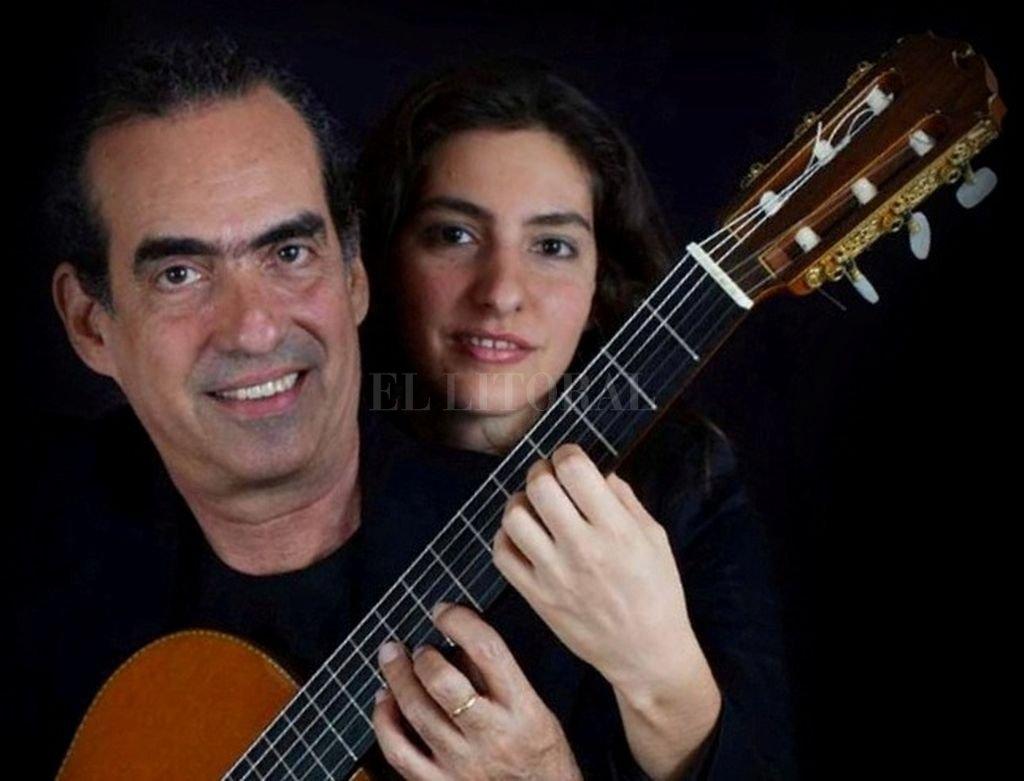El dúo integrado por los cubanos Eduardo y Galy Martín compartirá la velada con el argentino Marcelo Coronel y el santafesino León Collasius.  <strong>Foto:</strong> Gentileza UPCN