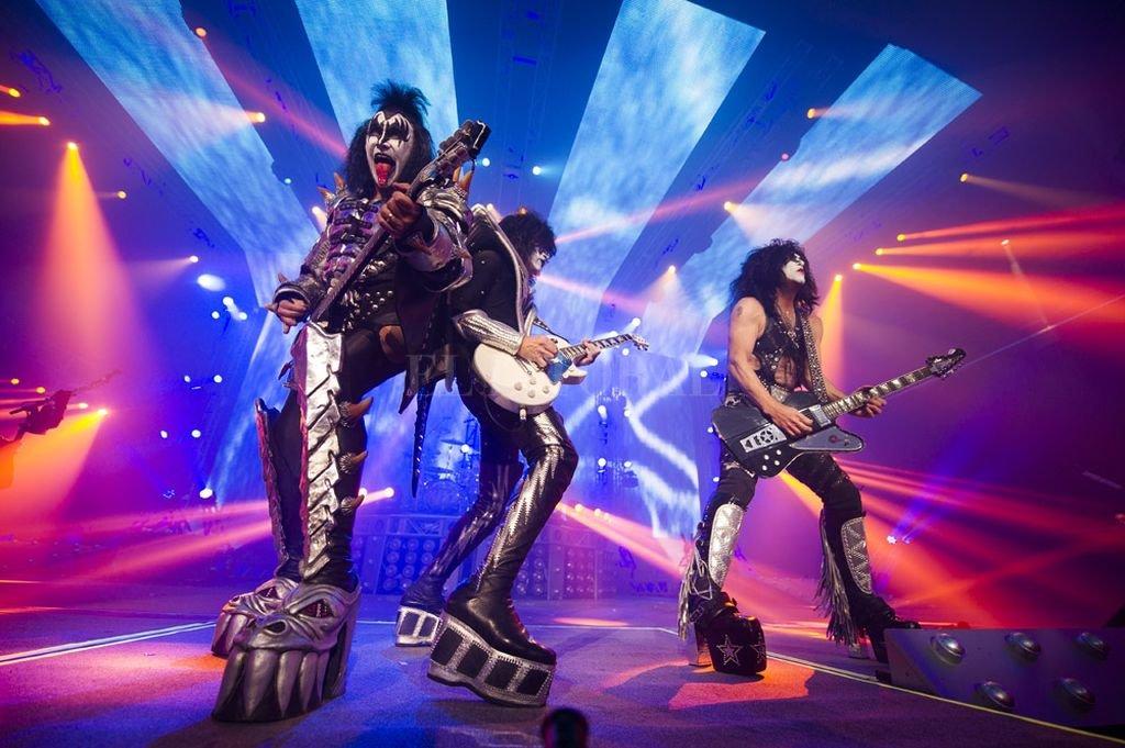 Después de una épica y legendaria carrera de 45 años que comenzó con la era de leyendas del rock and roll, Kiss anunció que se despedirá de sus fans de todo el mundo. <strong>Foto:</strong> Foto: Gentileza Flow / DF Entertainment