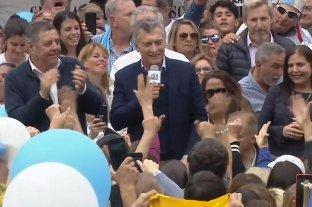 """En Entre Ríos, Macri pidió """"cuidar el voto"""" para """"dejarle un país mejor a nuestros hijos"""""""
