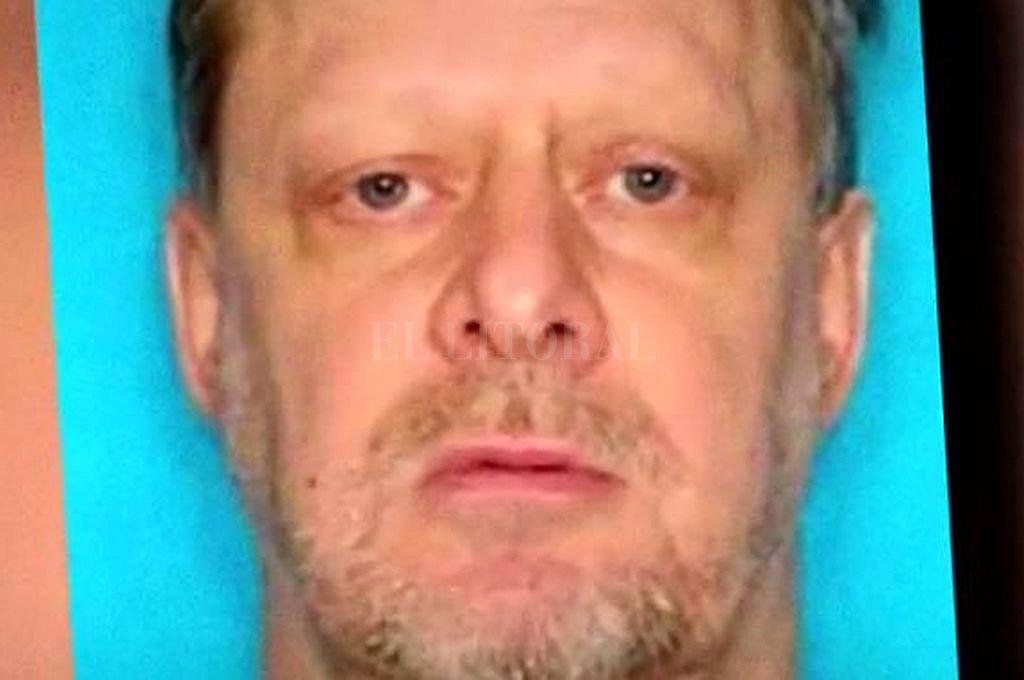 Stephen Paddock, el tirador de Las Vegas que se suicidó antes de ser capturado por la policía. <strong>Foto:</strong> Captura digital