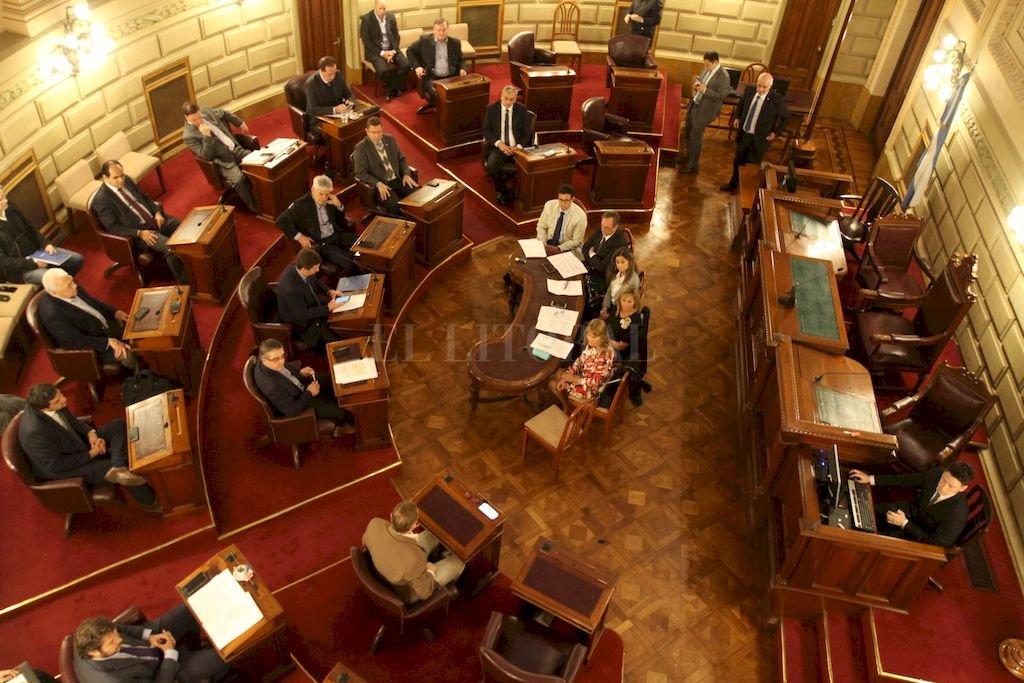 Senado santafesino Crédito: Guillermo Di Salvatore