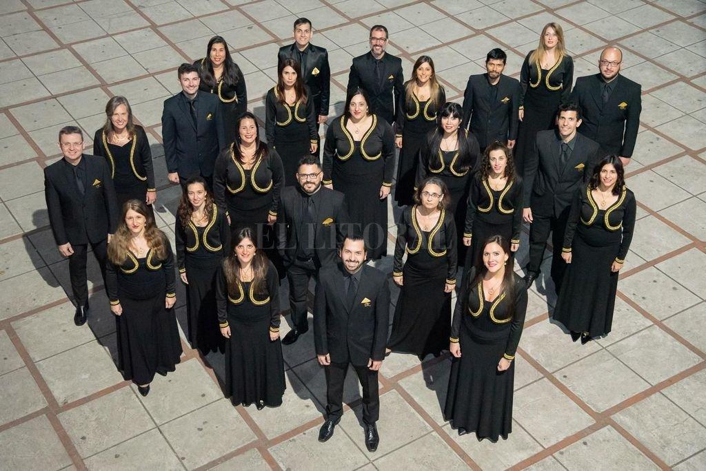 Los coreutas interpretarán obras de Brahms, Mendelssohn Bartholdy, Rheinberger y otros compositores como Corona, Latini y Andreo, entre otros.  <strong>Foto:</strong> Gentileza producción