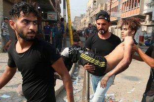 Elevan a 40 los muertos tras las protestas en Irak