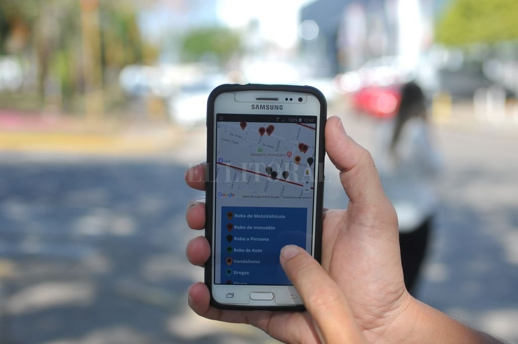 La construcción de un mapa del delito hoy resulta facilitada por los recursos informáticos disponibles. Crédito: Flavio Raina - Archivo El Litoral