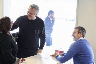 Alberto Fernández sumó a Florencio Randazzo a su armado
