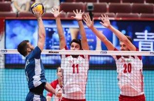 Argentina perdió 3-1 con Polonia, bicampeón mundial de voley