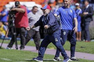 Primera victoria de Gimnasia LP con Maradona como DT