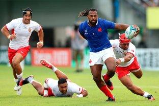 Francia derrotó a Tonga y eliminó a Los Pumas