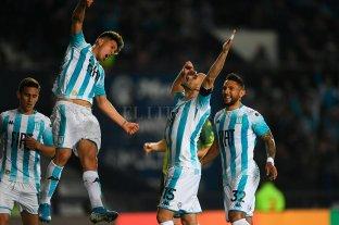 Racing venció a Aldosivi y continúa prendido en los puestos de arriba de la Superliga