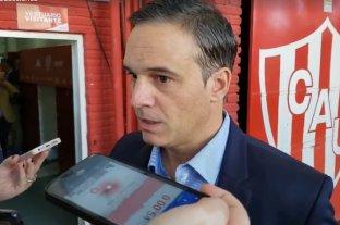 """Patricio Loustau, el árbitro de Unión - Colón: """"Mi sueño era dirigir esta clase de partidos"""""""