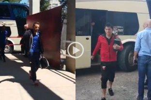 Videos: así llegaban Unión y Colón al 15 de Abril