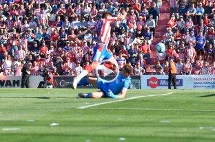 El gol de Mazzola que le dió la victoria a Unión