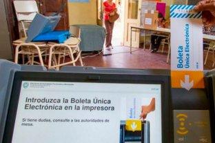 Elecciones PASO en Salta: cerraron los comicios
