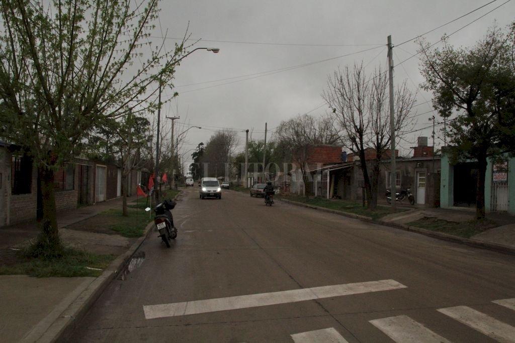 Actual. Así luce calle Chaco tras la pavimentación.  <strong>Foto:</strong> Mauricio Garín