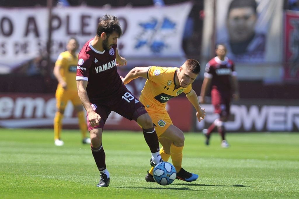 Lanús y Central igualaron 1 a 1 <strong>Foto:</strong> Télam