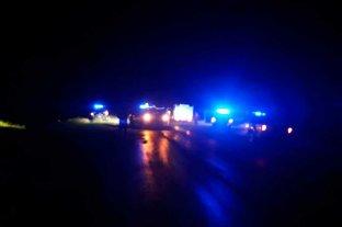 Trágico siniestro vial en la Ruta 6: falleció una mujer y su hija