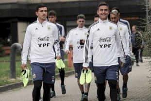 La Selección Argentina se entrena pensando en Alemania