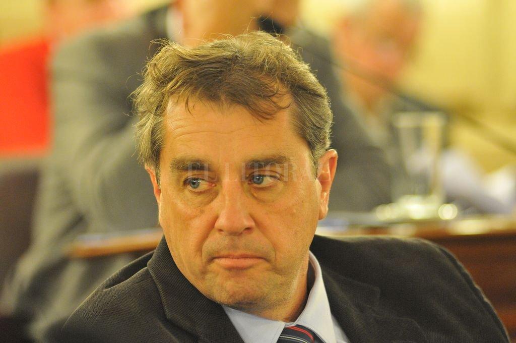 Danilo Capitani, actual senador por el departamento San Jerónimo. Crédito: Archivo El Litoral