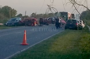 Accidente fatal en la Ruta 2