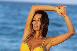 "Pampita sufrió un ""accidente"" en una playa del Caribe"