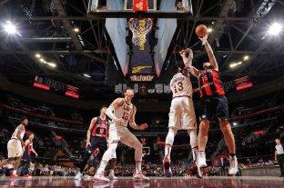 San Lorenzo vivió su segunda experiencia NBA ante Cleveland