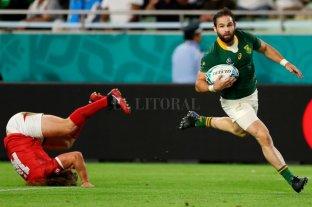 Sudáfrica ganó y se clasificó a los cuartos de final