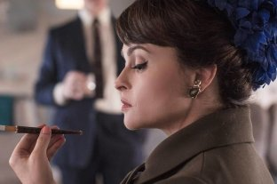 """Helena Bonham Carter dice que """"habló"""" con el espíritu de la Princesa Margarita"""