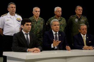 """Argentina y otros seis países de la región expresaron su """"firme respaldo"""" al gobierno ecuatoriano"""