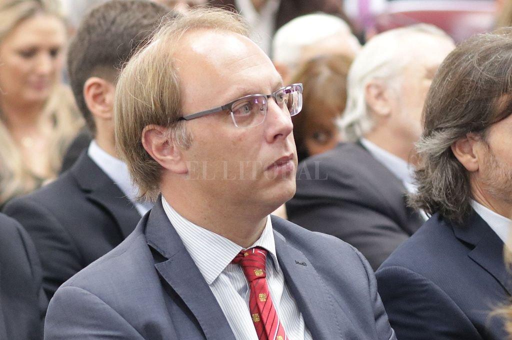 Gonzalo Saglione, ministro de Economía de la provincia. Crédito: Pablo Aguirre